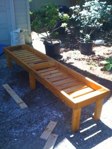 Plant bench, pre-plastic