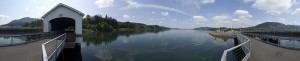 Panorama at Lowell Bridge (by Rick Stasel)