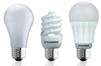 Incandescent, CFL, and LED